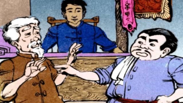 Truyện cổ tích: Mồ côi xử kiện