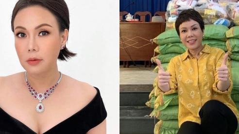 Việt Hương: Biệt thự to đẹp không ở, hột xoàn mua nhiều nhưng không đeo và quan điểm làm từ thiện