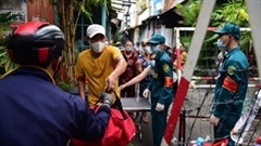 TP.HCM: Phong tỏa hẻm 245 khu Mã Lạng, lấy mẫu xét nghiệm 1500 người