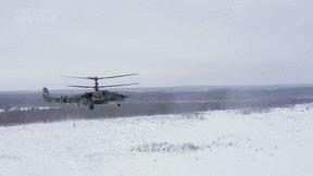 Xem trực thăng Ka-52 Nga dội hỏa lực phá hủy xe tăng