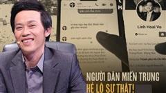Người dân miền Trung tung đoạn tin nhắn, minh oan cho nghệ sĩ Hoài Linh
