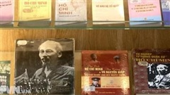 """Triển lãm sách """"Hồ Chí Minh - Cuộc hành trình thế kỷ"""""""