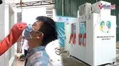 Buồng lấy mẫu xét nghiệm Covid-19 'Make in Vietnam' tiếp sức tuyến đầu