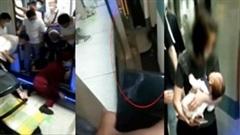 Người đàn ông cứu bé 2 tháng tuổi rơi xuống đường ray