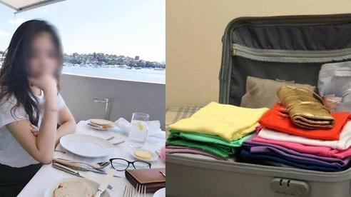 Biết chuyến công tác của chồng có điều mờ ám, vợ vẫn vui vẻ chuẩn bị cho đủ 5 ngày nhưng vừa mở vali, anh tái mặt hủy bay gấp