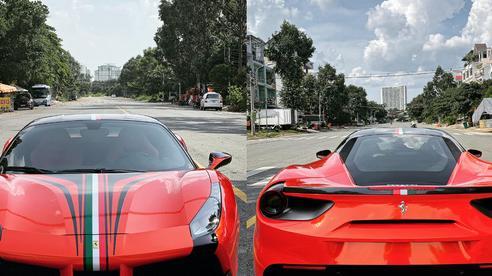 Ferrari 488 GTB hàng độc tại Việt Nam về tay vợ chồng Hoa hậu Áo dài, ngoại thất được thay đổi cực bắt mắt