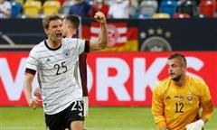 """Clip Đức thắng """"hủy diệt"""" Latvia 7-1 trước ngày Euro khai mạc"""
