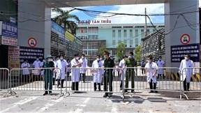 Bệnh viện K Tân Triều dỡ phong tỏa