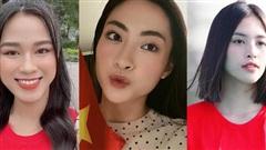 Dàn Hoa hậu háo hức trước trận bóng Việt Nam - UAE: Tiểu Vy, Lương Thùy Linh và hội chị em cá cược điều này