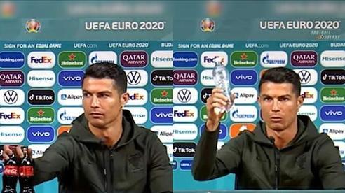 Ronaldo khiến Coca-Cola 'bốc hơi' 4 tỷ USD sau cú gạt nước ngọt