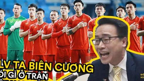 Anh Biên Cương chốt lại: Việt Nam có một pha làm bàn thắng như 'thêu hoa dệt gấm, xứng đáng vào sách giáo khoa'