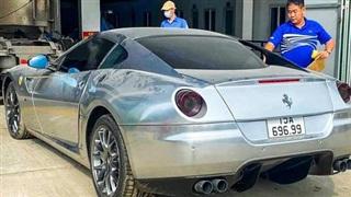 Ferrari 599 GTB thứ 2 Việt Nam lộ diện với biển số đẹp, đại gia sở hữu có cả bộ sưu tập siêu xe nổi tiếng tại Hải Phòng