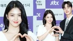 'Tiểu tam' Han So Hee khoe vòng 1 trắng nõn bên nam thần mới nổi, combo visual làm khán giả 'gào thét'