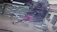 Video: Thanh niên đi trộm không may gặp chó dữ và cái kết