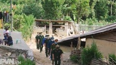 Bộ đội biên phòng ngày đêm bám chốt chống dịch