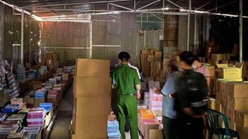 Triệu tập hàng chục đối tượng liên quan đến đường dây làm giả 3 triệu cuốn sách