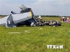 Nga đính chính thông tin thiệt hại do tai nạn máy bay L-410
