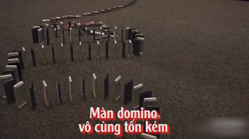 Màn Domino Vô Cùng Tốn Kém