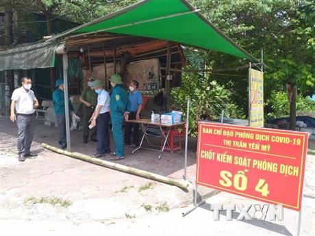 Hưng Yên phát hiện thêm 2 trường hợp dương tính với SARS-CoV-2
