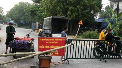 Hưng Yên: Mẹ và con trai của lái xe mắc COVID-19 có kết quả dương tính
