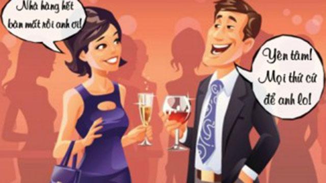 Truyện cười: Cách để đuổi khách trong nhà hàng