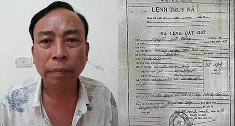 Bị bắt sau 34 năm thay tên đổi họ trốn truy nã