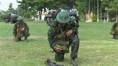Thành quả sau ba tháng huấn luyện chiến sĩ mới