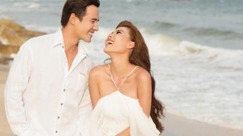 Thúy Diễm đăng ảnh hạnh phúc bên chồng điển trai