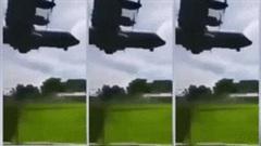 Cảnh máy bay quân sự Philippines nổ tung, ít nhất 45 người thiệt mạng