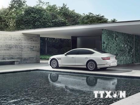 Hyundai ra mắt mẫu ôtô điện đầu tiên mang thương hiệu Genesis