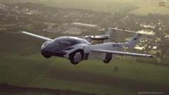Xe bay hoàn thành chuyến bay thử nghiệm trong thành phố