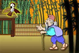 Truyện cổ thế giới: Sự tích con chim sẻ bị cắt lưỡi