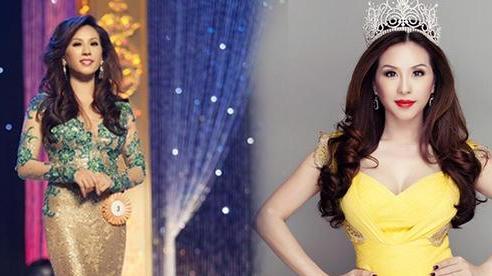 Hoa hậu Thu Hoài bị đào lại ồn ào danh hiệu: Bị tố mua giải giá 1,9 tỷ, hết Nathan Lee đến chồng Thu Phương mỉa mai là 'ao làng'
