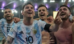 Video diễn biến trận Argentina thắng Brazil, vô địch Copa America