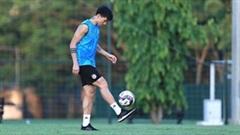 Trở về sau vòng loại World Cup, Văn Hậu chưa thể tập luyện cùng đồng đội