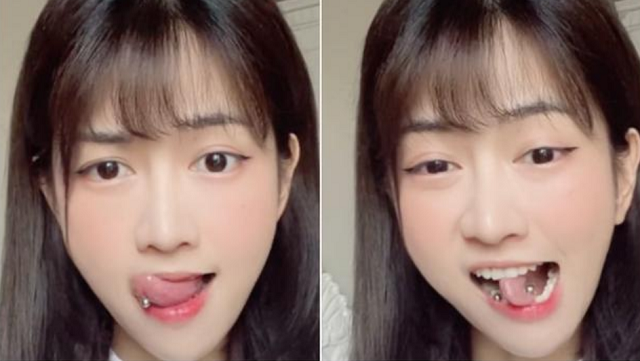 Bị anti vì lè lưỡi quá nhiều, Lê Bống tung luôn clip 'uốn lưỡi bảy lần' thách thức netizen