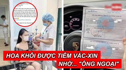 Bộ Y tế yêu cầu giải trình vụ 'hoa khôi khoe tiêm vaccine không cần đăng ký nhờ ông ngoại'