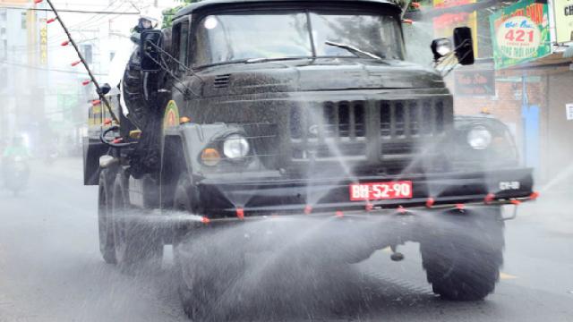 Từ hôm nay (23/7), phun khử khuẩn toàn TP Hồ Chí Minh