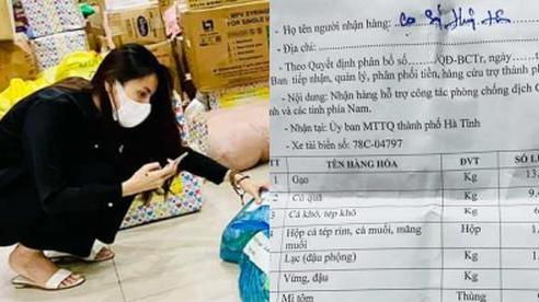 Thuỷ Tiên bị tố 'nhận vơ' cả trăm tấn lương thực người dân Hà Tĩnh tiếp tế cho Sài Gòn, Công Vinh bức xúc lên tiếng phân trần