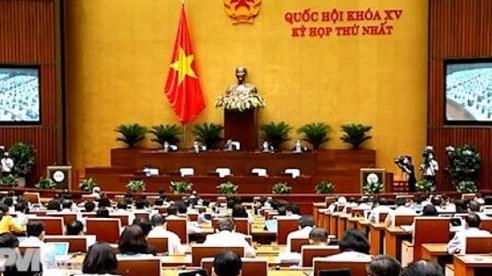 Cơ cấu tổ chức của chính phủ gồm 18 Bộ và 4 Cơ quan ngang Bộ