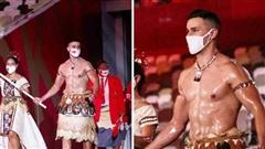 Chân dung VĐV ngực trần 'hot' nhất Lễ khai mạc Olympic Tokyo 2020 khiến cộng đồng mạng bấn loạn