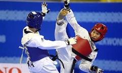 Clip võ sĩ Kim Tuyền thắng trận ra quân tại Olympic