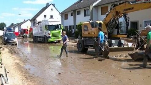 Đức nỗ lực cứu trợ và tái thiết cho người dân sau lũ lụt