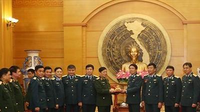 Đại tướng Ngô Xuân Lịch thăm và làm việc tại Quân chủng Phòng không - Không quân