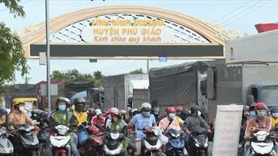 CSGT Bình Phước dẫn đường cho hàng ngàn phương tiện từ TPHCM, Bình Dương đổ về Tây Nguyên