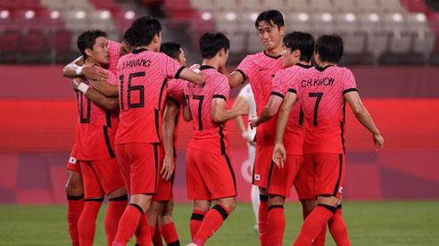 Olympic Hàn Quốc gây bất ngờ trước đại diện châu Âu