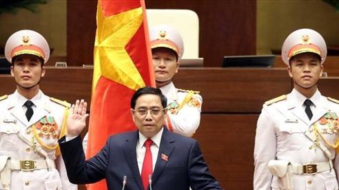 Video: Ông Phạm Minh Chính tuyên thệ nhậm chức Thủ tướng Chính phủ