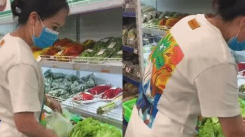 Cô gái đi mua rau có một hành động khiến dân mạng cho là 'ích kỷ, vô ý thức', nhiều người quyết tìm để cho một bài học