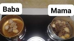 Hai nồi thịt kho trên bếp và câu chuyện vợ chồng giận dỗi con mất giường ngủ được chia sẻ rầm rộ MXH