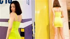 Lệ Quyên quay clip mặc váy ngắn khoe body, bị dân mạng chê thô thiển vì quá phô vòng 3